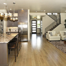 contemporary kitchen by Boise Hunter Homes