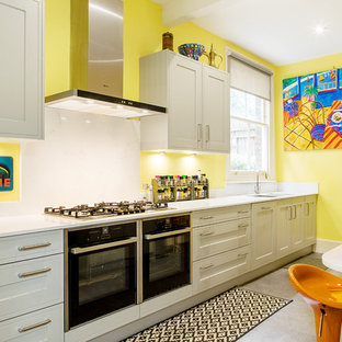 Awesome Caribbean Inspired Kitchen