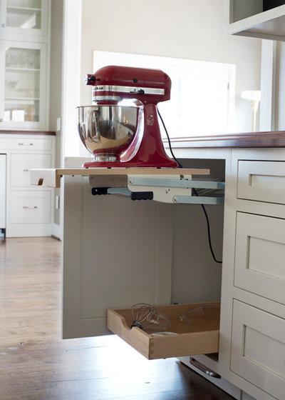 Küchengeräte clever verstauen – 11 praktische Ideen für Mixer & Co.