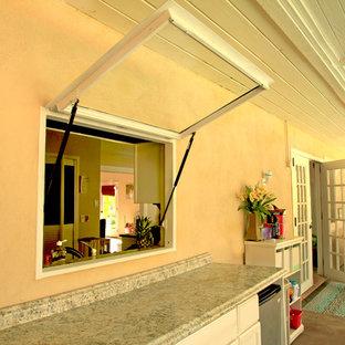 Awning Windows: White Powder Coating