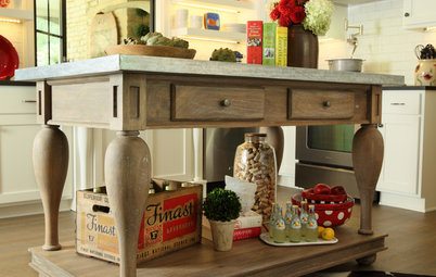 Kitchen Confidential: 11 Islands With Furniture Style