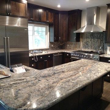 Azurite Granite Kitchen