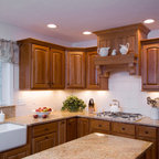 Sloped Celing Kitchens And Cabinets