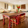 Sample Bright Color in the Kitchen