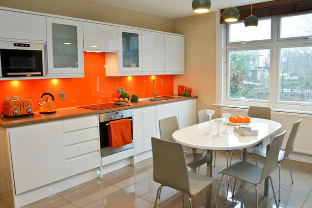 Contemporary Kitchen by Cathy Phillips & Co