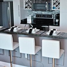 Contemporary Kitchen by Nicole White Designs Inc