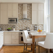 Transitional Kitchen Back Bay Brownstone