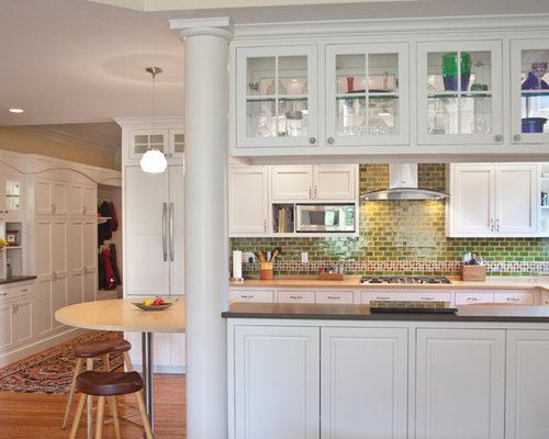 double sided kitchen cabinets sided cabinet home design ideas pictures remodel 15030
