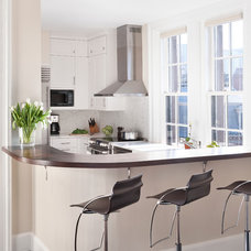 Transitional Kitchen by Ben Gebo Photography