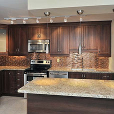 Contemporary Kitchen by Keramin Tile