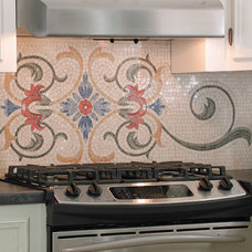 Eclectic Kitchen by Appomattox Tile Art Company