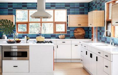 Antes y después: Una cocina nueva de estilo 'midcentury'