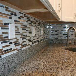 Miraculous Multi Color Tile Backsplash Houzz Download Free Architecture Designs Scobabritishbridgeorg