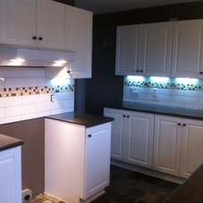 Traditional Kitchen by Stepping Stone and Tile