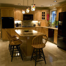 Eclectic Kitchen by Tile Gallery