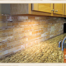 Traditional Kitchen by Bond Tile & Stone