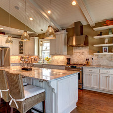 Beach Style Kitchen by Floor Coverings International Coastal Carolinas