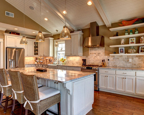 Neutral Kitchen Houzz