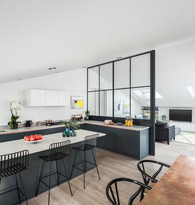 Contemporary Kitchen by Jo Cowen Architects