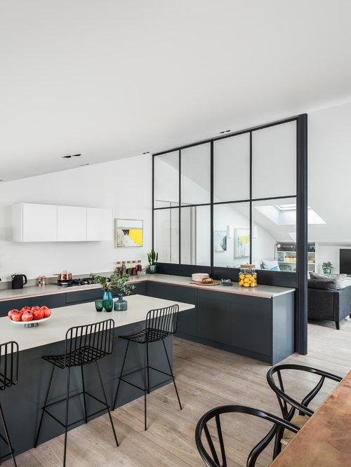 Light Gray And White Kitchen gray and white kitchens | houzz