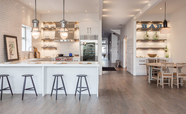 Industrial Kitchen By Bakes Kropp Fine Cabinetry