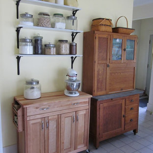 Elegant kitchen photo in Other