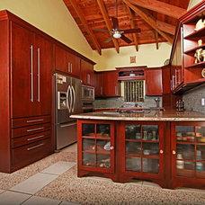 Tropical Kitchen by Virgin Islands Granite & Marble
