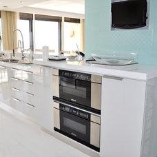 Contemporary Kitchen by Woodart Design & Furniture