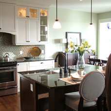 Traditional Kitchen by Rochelle Lynne Design