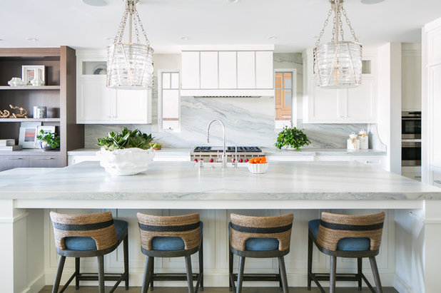 Beach Style Kitchen by Details a Design Firm