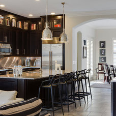 Transitional Kitchen by Wolfe Rizor Interiors
