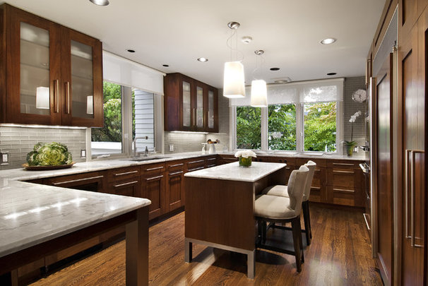 Contemporary Kitchen by AMW Design Studio