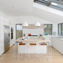 Houzz Tour: A Smart Extension Pours Light Into a Dark, Dated Home