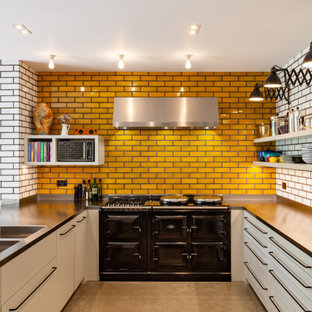 Photo of a retro kitchen in London.
