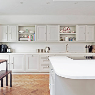 Traditional kitchen in London.