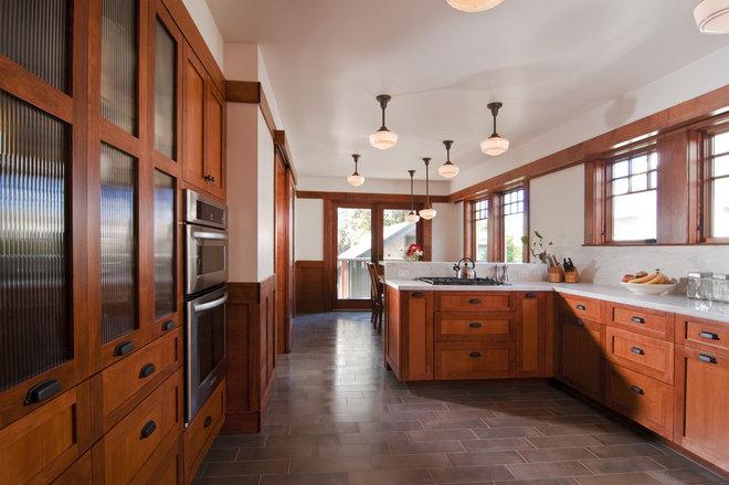 Craftsman Kitchen by Bali Construction