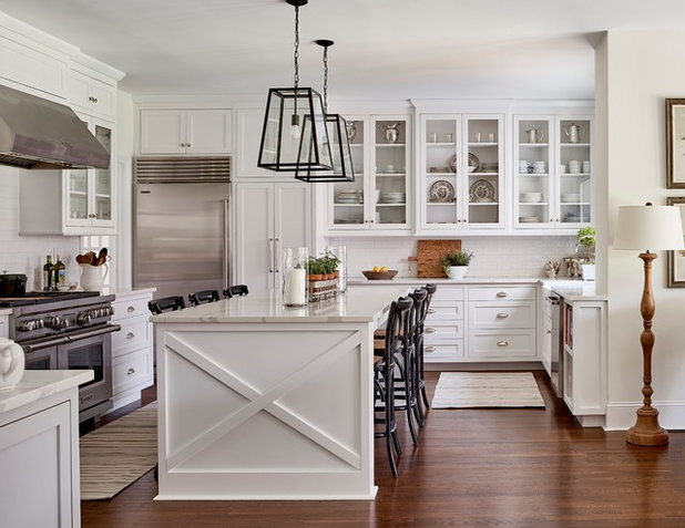 Farmhouse Kitchen by Ally Whalen Design