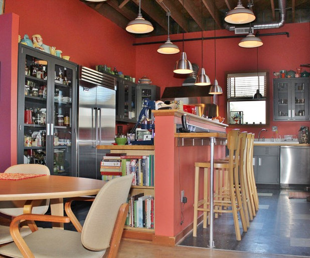 My Houzz: Vision Pays Off In A Vibrant Live-Work Space