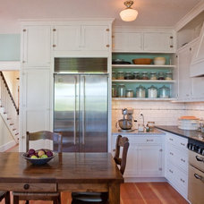 Traditional Kitchen by Seattle Custom Cabinets