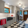 Kitchen of the Week: Retro Fun and More Room to Move