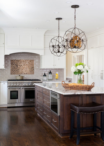 Transitional Kitchen by WINN Design+Build
