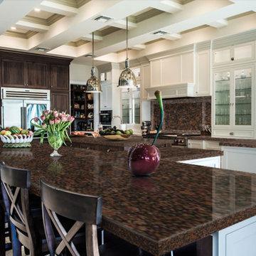 Baltic Brown Granite Kitchen