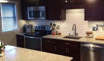 Baltimore rowhome kitchen