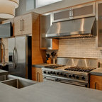 Bamboo Cabinets - Modern - Kitchen - Chicago - by Best ...