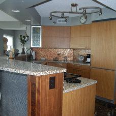 Kitchen by Crowder's Custom Cabinets
