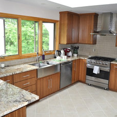 Asian Kitchen by London Grove Cabinetmakers