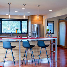 Contemporary Kitchen by Wende Woodworking LLC