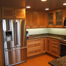 Contemporary Kitchen by Woodcrafters Intl Inc