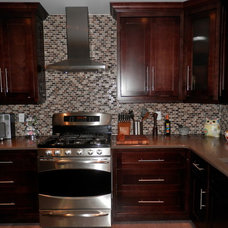 Traditional Kitchen by Custom Cabinet Concepts