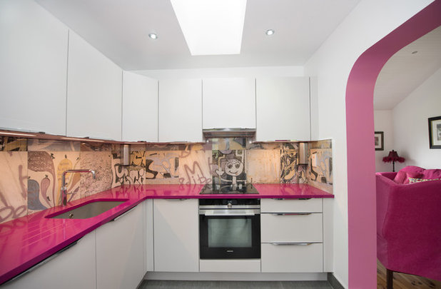 Eclectic Kitchen by Evoke Kitchens